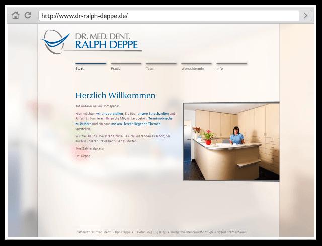 Homepage Design   Produkt Homepage Design Kirbach Design